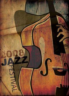 Jazz Festival - 2008 by Shadi Zayat, via Behance