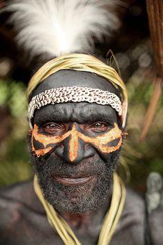 Faces of the Sepik River Crocodile Festival, Papua New Guinea.   Photo: google.search.com