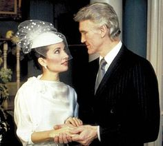 Erica (Susan Lucci) married Adam Chandler (David Canary) -- who was both her fourth and her seventh husband. Adam Chandler, David Canary, Soap Opera Stars, Soap Stars, Susan Lucci, Loveless Marriage, Wedding Movies, Get Shot, Cute Couples