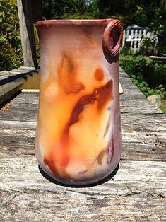 Ferric Fumed Vase by Lori Buff