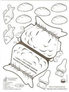 Resultado de imagem para crianças multiplicação dos pães e peixes