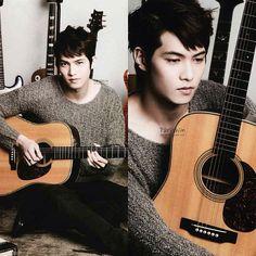 THE FNC VOL.1❗ our strongest burning guitarist leejonghyun  #leejonghyun #cnblue #thefnc - @cnbluepage- #webstagram
