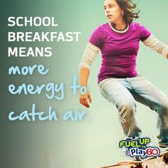 So many benefits for #SchoolBreakfast