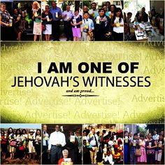 I am one of #Jehovah's #Witnesses and I am proud!!! #jw