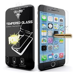 iPhone 6 Screen Protector, CellBee® [Shielding Gladiator] iPhone 6 4.7 Inch Premium High Definition Shockproof Clear Tempered Glass Screen Protector 0.3mm Thickness 2.5D Curved Edge for iPhone 6 4.7 Inch CellBee http://www.amazon.com/dp/B00NMXN3TC/ref=cm_sw_r_pi_dp_qh.-ub13VVPGV