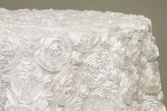 Hey, I found this really awesome Etsy listing at https://www.etsy.com/listing/207461846/rosette-tablecloth-white-romantic