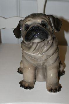 103 Cookie Jars Shaped Like Dogs Teapot Cookies, Dog Cookies, Biscuit Cookies, Cute Cookies, Pugs, Antique Cookie Jars, Dog Treat Jar, Vintage Cookies, Shaped Cookie