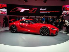 Detroit 2014: Toyota FT1 Concept - Popular Mechanics
