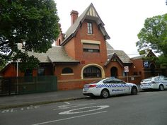 Flemington Police Station and Lockup, 1891 VHR Ascot Vale, Historic Houses, Melbourne Victoria, Police Station, Romanesque, Town Hall, Melbourne Australia, Post Office, Offices