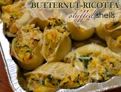 Butternut-Ricotta Stuffed Shells