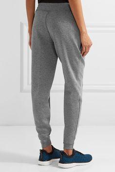 Nike - Tech Fleece Cotton-blend Track Pants - Gray - x small