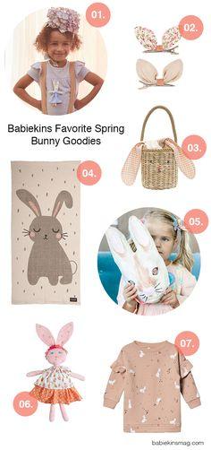 Babiekins Favorite Spring Bunny Goodies | Babiekins Magazine