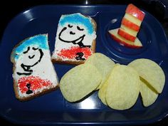 Dr. Seuss's birthday lunch fun!