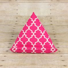 Pink iPad Stand ~ Kindle Pillow Stand ~ Tablet Holder ~ Girly Gift for Mom, Graduation Gift, Pink Office Desk Accessories, Smart Phone stand