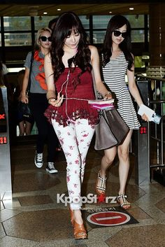 [130806] Tiffany at Gimpo Airport going to Japan