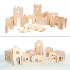 Waldorf Tree House and Modular Building Walls, Montessori wood toys Entretien de Maison Modular Tree House and Building Walls // Natural Wood Dollhouse Toy will Challenge Kids' Creativity //Modular Building Blocks Wooden Dollhouse Kits, Dollhouse Toys, Kids Wood, Craft Organization, Wood Toys, Kids Furniture, Modular Furniture, Plywood Furniture, Etsy Furniture