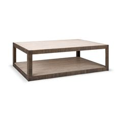 Gregorius Pineo 3725 Presidio Coffee Table     Walnut, oak or rift oak top and undershelf     Hand-planed, distressed top and undershelf     3 inch hand-forged iron base with G|P texture     FINISH SHOWN: Wood in Antiplano, Iron in Delos     60 W x 42 D x 21 H     68 W x 48 D x 21 H