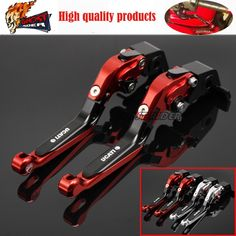 33.43$  Watch here - http://dij1y.justgood.pw/ali/go.php?t=32669071846 - fits for DUCATI MONSTER 659 696 796 Motorcycle Accessories CNC Billet Aluminum Folding Extendable Brake Clutch Levers 33.43$