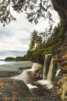 Sandcut Falls, Vancouver Island,Sandcut Beach,BC W… Vancouver Island, Canada Vancouver, Vancouver Travel, Beach Photography, Landscape Photography, Nature Photography, Vancouver Photography, Places To Travel, Lakes