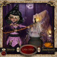 Little Witch [meine Bastelwelt] - $3.40 : LowBudgetScrapping