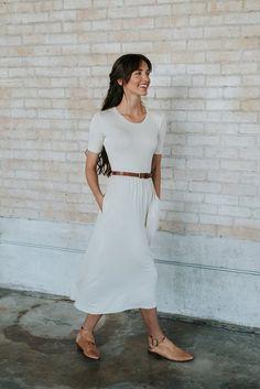 Sandra Dee Dress in Ivory