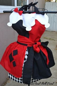 Harley Quinn skirt | Harley Quinn Apron Inspired by the beloved Harley Quinn from the ...