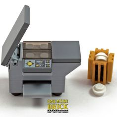 best christmas costumes LEGO Office Photocopier / Printer - with waste paper bin - NEW Lego Minecraft, Minecraft Buildings, Lego Design, Lego Duplo, Lego Office, Office Desk, Office Paper, Mini Office, Legos