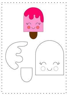 - - - Useful Summer Crafts For Kids - Yarn Crafts Videos Hanging Felt Crafts Patterns, Felt Crafts Diy, Felt Diy, Diy Crafts For Kids, Sewing Crafts, Sewing Projects, Paper Crafts, Yarn Crafts, Diy Paper
