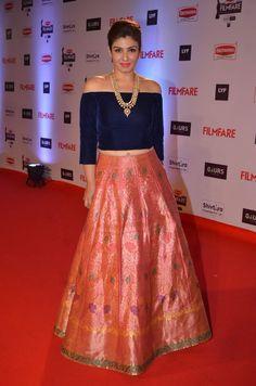 #RaveenaTandon killed it in this #ManishMalhotra designer #lehenga.
