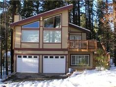 """South Lake Tahoe, CA: """"Gunbarrel Lodge"""" is located directly across the street from the California Base Lodge of Heavenly Ski Resort. It is also within close proximity to th..."""