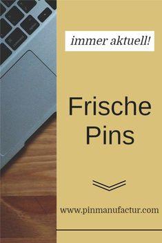 Auch für alte Inhalte kann man frische Pins gestalten. Pinterest Marketing, Mathematical Analysis, Fresh, Tips And Tricks