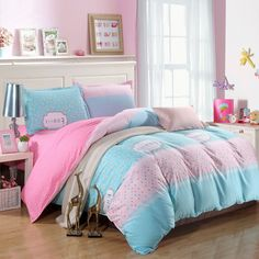 Like and Share if you want this  Home Textile Pink Blue Color 4pcs Bedding Set Bedclothes Sets Bedding Bed Sheet Duvet Cover Pillowcase,King/Queen/Twin/Full Size     Tag a friend who would love this!     FREE Shipping Worldwide     Get it here ---> http://onlineshopping.fashiongarments.biz/products/home-textile-pink-blue-color-4pcs-bedding-set-bedclothes-sets-bedding-bed-sheet-duvet-cover-pillowcasekingqueentwinfull-size/