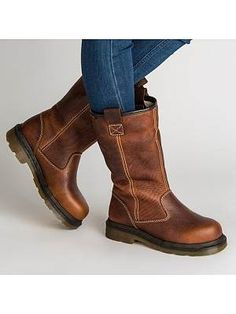 Foldable Retro Round Toe Stitching Mid Calf Knight Boots is hot-sale. Come to NewChic to buy womens boots online. High Heels Boots, Flat Boots, Low Heels, Wedge Shoes, Heeled Boots, Women's Shoes, Golf Shoes, Buy Shoes, Shoes Sneakers
