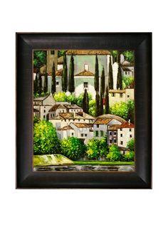 Gustav Klimt Church in Cassone (Landscape with Cypress) Framed Oil Painting, http://www.myhabit.com/redirect/ref=qd_sw_dp_pi_li?url=http%3A%2F%2Fwww.myhabit.com%2Fdp%2FB008LT984G%3Frefcust%3DGFBRT7HRA2FJRLX2PXFYKZAWEU
