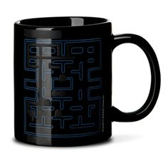 ThinkGeek :: Pac-Man Heat Changing Mug