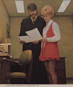 Office wear 1970 style