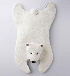 @M♥uche T  Modèle tapis ours jersey - Modèles tricot accessoires - Phildar