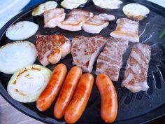 「沖村ペンション」のお食事すごかったよ!!バーベキューと朝食のご紹介