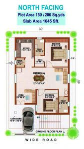 home plan north facing best of appealing 600 sq ft house plans with car parking plan 2bhk House Plan, Model House Plan, Duplex House Plans, Small House Plans, House Floor Plans, Parking Plan, Car Parking, 500 Sq Ft House, 20x30 House Plans