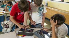 L'utilisation du IPad en classe se répand rapidement à travers le monde.