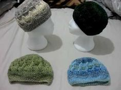 Crocheted Hats Video 2