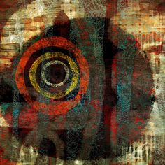 The Old Cells Studio - Michèle Brown Art: Concentric - iPad painting