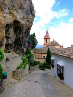 Zahara de la Sierra - Andalusia Places Around The World, Around The Worlds, Spain Holidays, Countries To Visit, Cadiz, Spain And Portugal, Sierra, Seville, Spain Travel