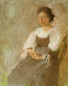 Włoszka - Olga Boznańska