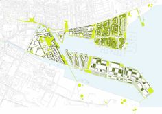 Masterplan Horsens Port  C.F. Møller. Photo: C.F. Møller