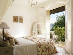 Janet Hamilton's villa 'Jasmin' near the French Riviera village of St Paul de Vence.