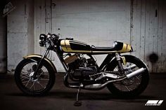 Yamaha RD350. 2-Stroke
