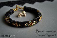 Stylish Gothic bracelet with crosses