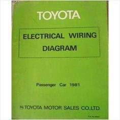 Toyota Passenger Car Electrical Wiring Manual 1981 98951 on eBid United Kingdom