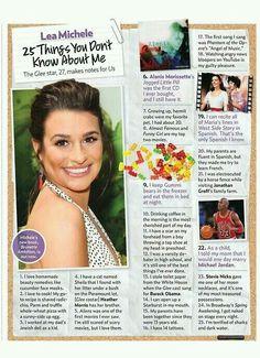 Lea Michele facts